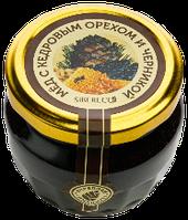 Мёд с кедровым орехом и черникой 95мл/160г
