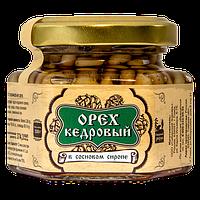 Ядро кедрового ореха в сосновом сиропе 110 г Сибирский Знахарь