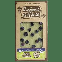 Шоколад белый Лист смородины и голубика 100 г Сибирский клад