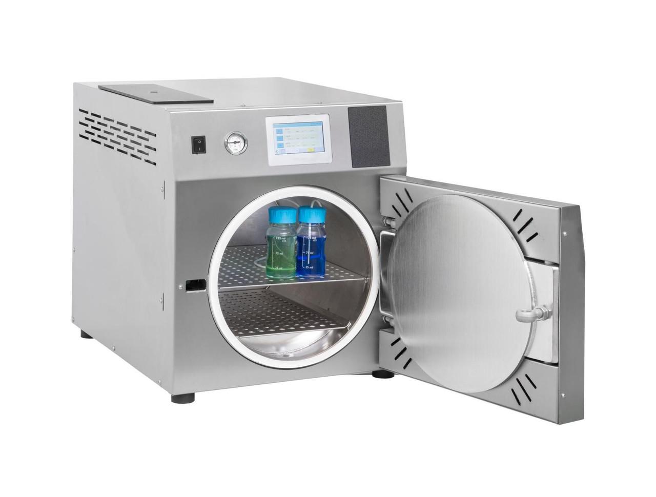 Лабораторные и настольные автоклавы объемом камеры от 25 до 200 литров