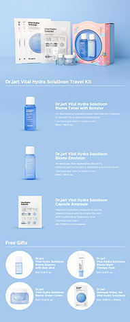 Подарочный набор Dr.Jart+ Vital Hydra Solution Travel Kit, фото 2