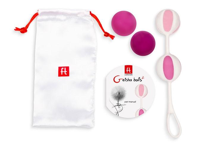 Вагинальные шарики Gvibe Geisha Balls 2, 3 см