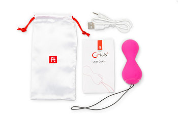 Шарики Gballs 2 App hi-tech с персональным тренером вагинальных мышц от Gvibe