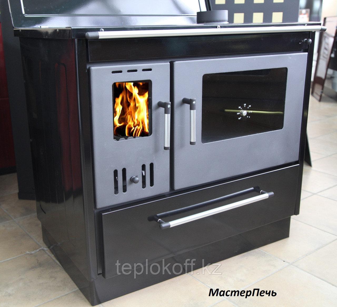 Отопительно-варочная печь с духовкой Мастерпечь ПВ-02