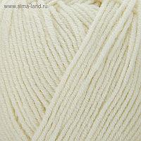 """Пряжа """"Cotton Gold"""" 55% хлопок, 45% акрил, 330м/100гр (62 кремовый)"""