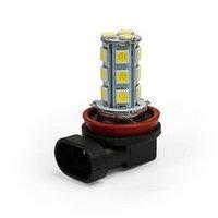 Лампа светодиодная KS, H11, 18 SMD 5050 диодов, 12 В, белая (комплект из 5 шт.)