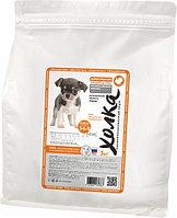Сухой корм для щенков собак мелких пород Индейка-рис, 3 кг.