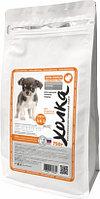 Сухой корм для щенков собак мелких пород Индейка-рис, 200 гр.