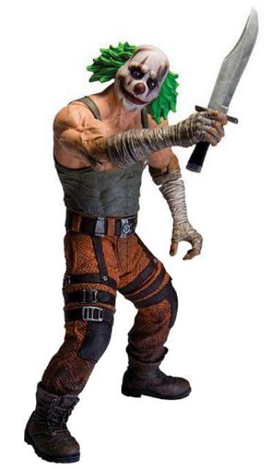 "DC Collectibles ""Batman Arkham City"" -  Clown Thug, Клоун-Бандит"