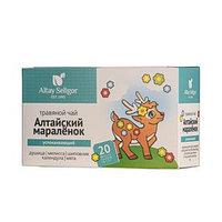 Травяной чай для детей Altay Seligor 'Алтайский мараленок' успокаивающий, 20 фильтр-пакетов