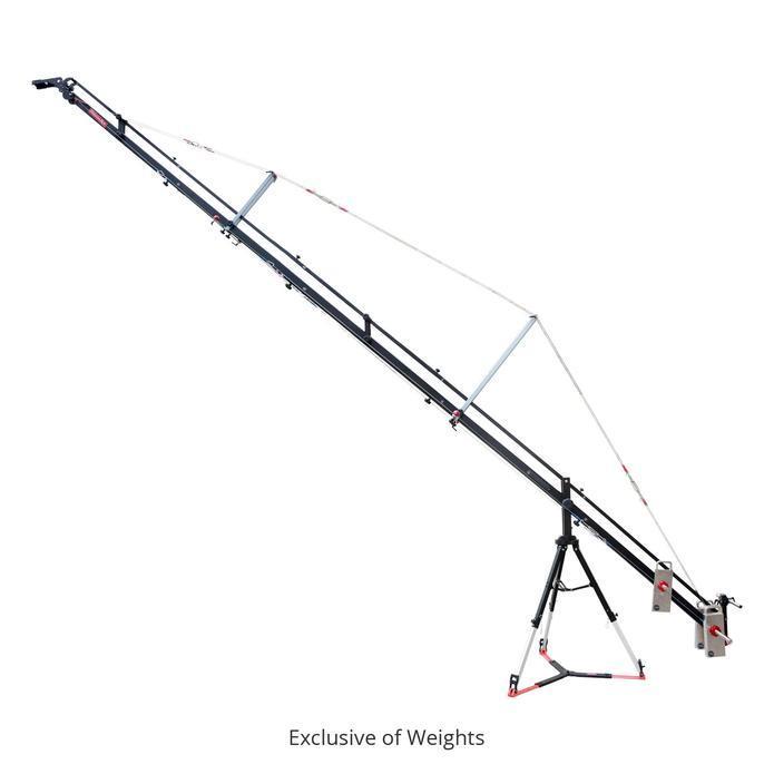 Proaim Fly 22' Camera Jib Crane with 100mm Stand  Proaim Fly 22' Camera Jib Crane with 100m