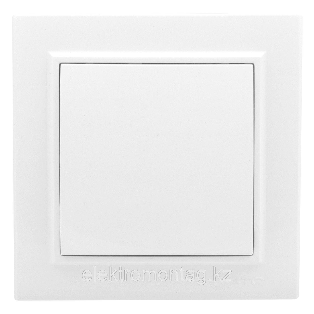 Выключатель Минск 1-клавишный СП,10А, белый EKF