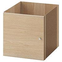 Вставка с дверцей КАЛЛАКС под беленый дуб 33x33 см ИКЕА, IKEA, фото 1