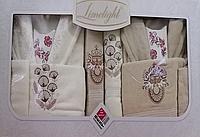 Шикарный парный комплект банных халатов, фото 1