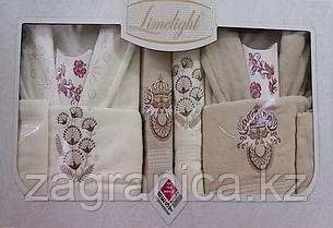 Шикарный парный комплект банных халатов