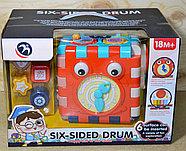 BM1001 Часы сортер Six-sided drum 35*25см, фото 2