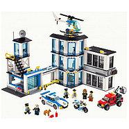 10424 Конструтор Urban Police здание,890дет, 50*39см, фото 2