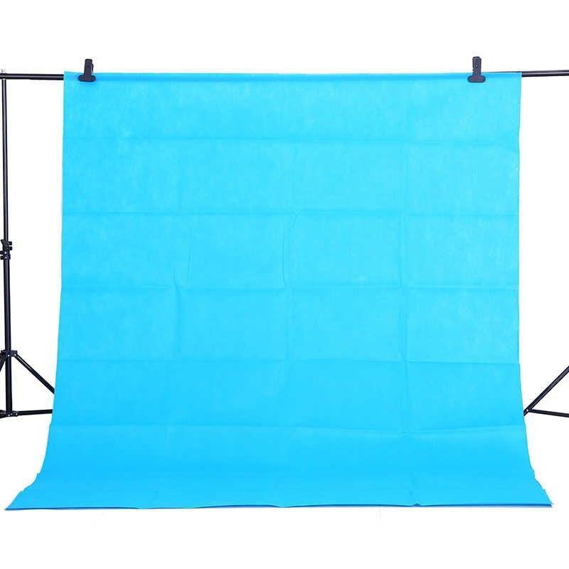 Фон 3 м × 2,3 м Студийный тканевый цвет голубой/ бирюзовый