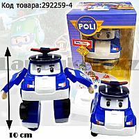 Трансформер игрушечный из серии Робокар Поли и его друзья для детей полицейская машина Поли