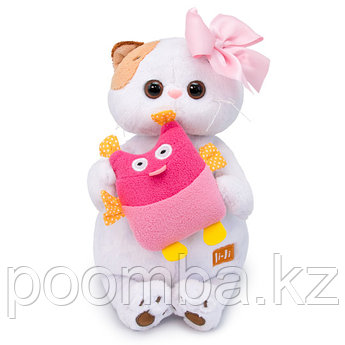 """Мягкая игрушка """"Кошечка Ли-Ли с совой"""""""