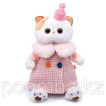"""Мягкая игрушка """"Кошечка Ли-Ли в комбинированном пальто"""""""