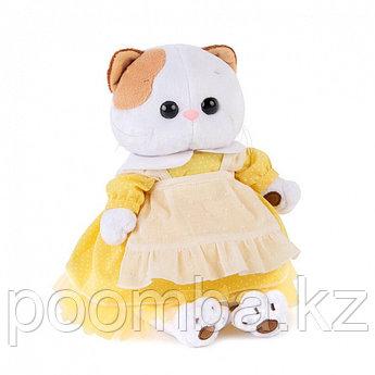 """Мягкая игрушка """"Кошечка Ли-Ли в желтом платье с передником (В2)"""""""