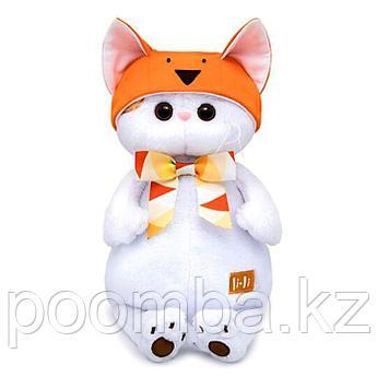 "Мягкая игрушка ""Кошечка Ли-Ли в шапке - лисичка (В1)"""