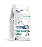 Forza10 Weight Control Active,сухой диетический корм для собак с лишним весом,уп.4 кг.