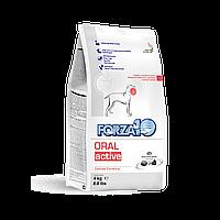Forza10 Oral Active,сухой диетический корм для собак для защиты полости рта,уп.4 кг.