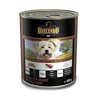 Belcando Best Quality Meat&Liver,влажный корм для щенков и собак с мясом и печенью,банка 400 гр.