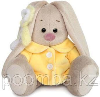 Зайка Ми в желтом меховом пальто (малыш)