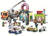Конструктор Аналог лего сити Lego City 60233 Lari 11392 Открытие магазина по продаже пончиков, фото 2