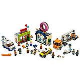 Конструктор Аналог лего сити Lego City 60233 Lari 11392 Открытие магазина по продаже пончиков, фото 3