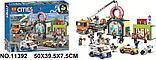 Конструктор Аналог лего сити Lego City 60233 Lari 11392 Открытие магазина по продаже пончиков, фото 4