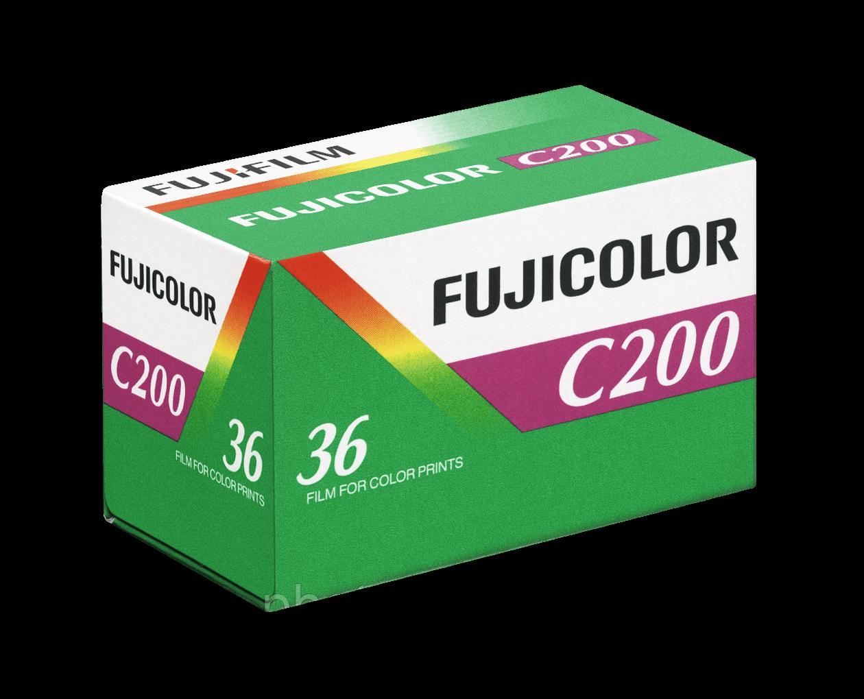 Фотопленка Fujicolor C200 (135/36) цветная негативная