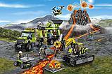 Конструктор аналог лего сити Bela City База исследователей вулканов 10641 (Аналог Lego City 60124) 860 дет, фото 3