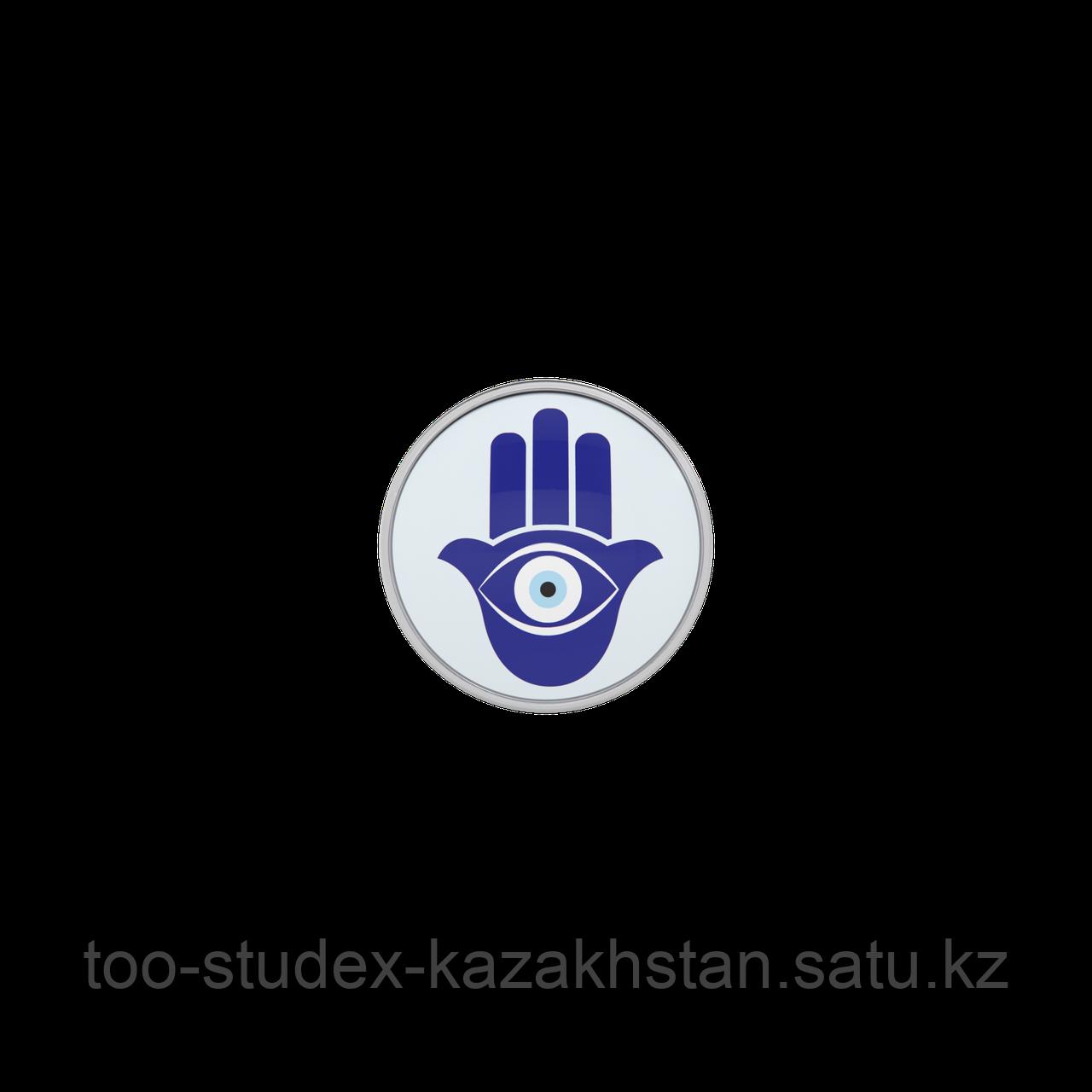 """7512-0669 Серьги для прокола STUDEX System75 """"Рука Фатимы"""" - фото 3"""