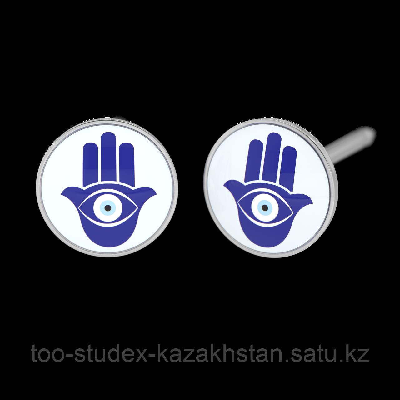 """7512-0669 Серьги для прокола STUDEX System75 """"Рука Фатимы"""" - фото 1"""