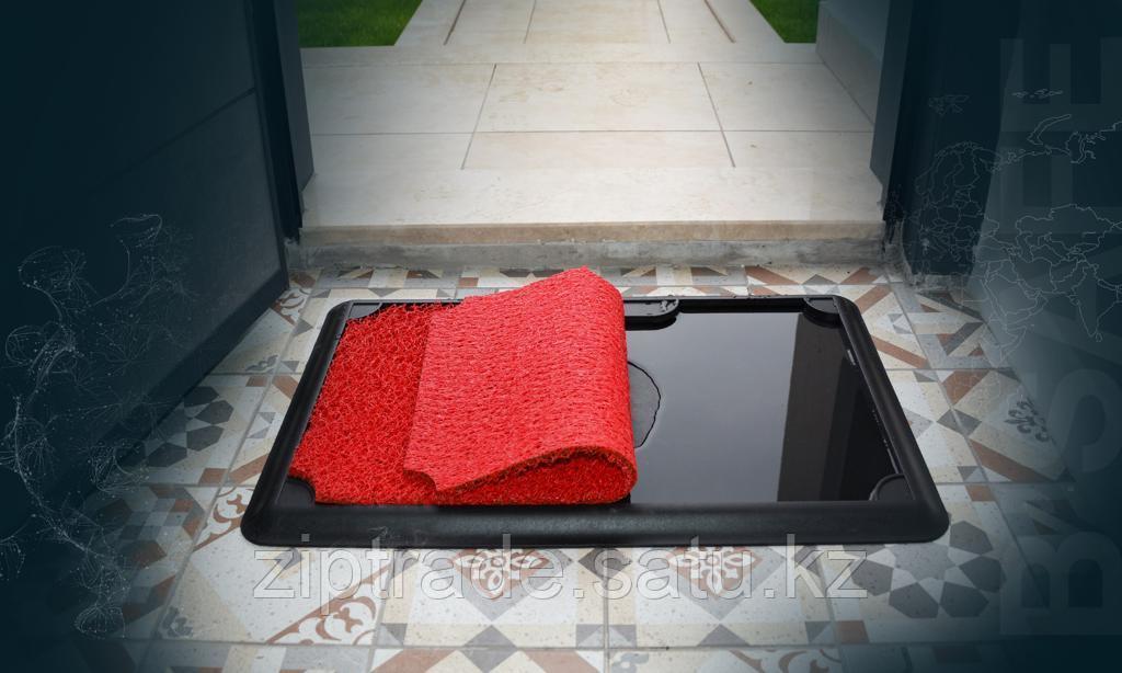 Дезинфицирующий коврик красный 45*70 - фото 2