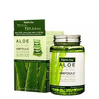 Многофункциональное ампульная сыворотка с экстрактом алоэ FARM STAY Aloe All-In-One Ampoule 250ml -