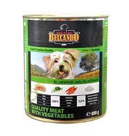 Belcando Best Quality Meat&Vegetable,влажный корм для собак с телятиной и овощами,банка 400 гр.