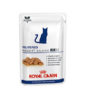 Royal Canin Weight Balance Cat, диета стерилизованных котов и кошек склонных к избыточному весу,уп.12*100гр.