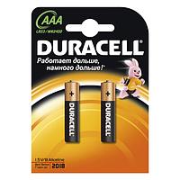 DURACELL батарейки Basic ААА 2шт