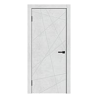 Дверь GEO-1 цвет Бетон снежный