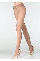 Колготки с кружевным поясом Marilyn Erotic 30 den 3 р Beige