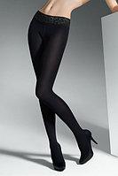 Колготки с кружевным поясом Marilyn Erotic 30 den 2 р Black