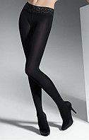 Колготки с кружевным поясом Marilyn Erotic 50 den 2 р Black