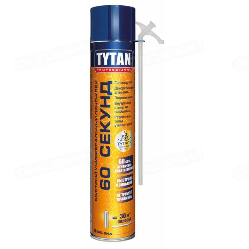 TYTAN пена-клей СТД, быстрый, универсальный, 60 сек., 750 мл