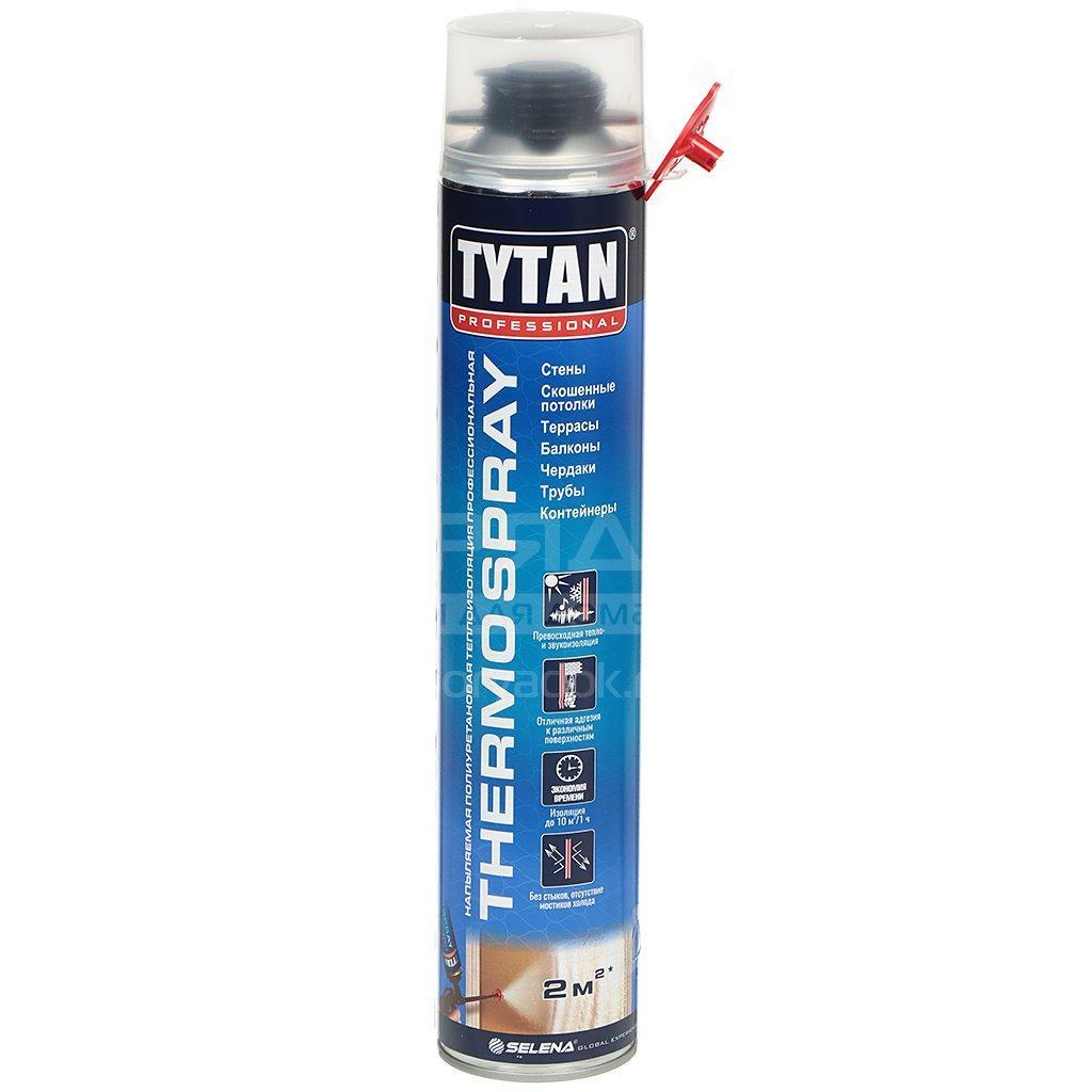TYTAN термоизоляция ПРОФ напыляемая полиуретановая THERMOSPRAY, 870