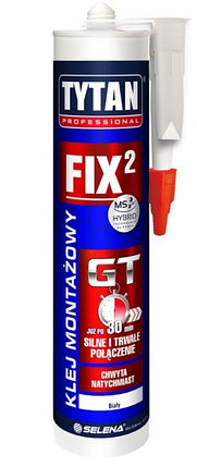 TYTAN клей монтажный Fix GT, 290 мл (РФ), фото 2